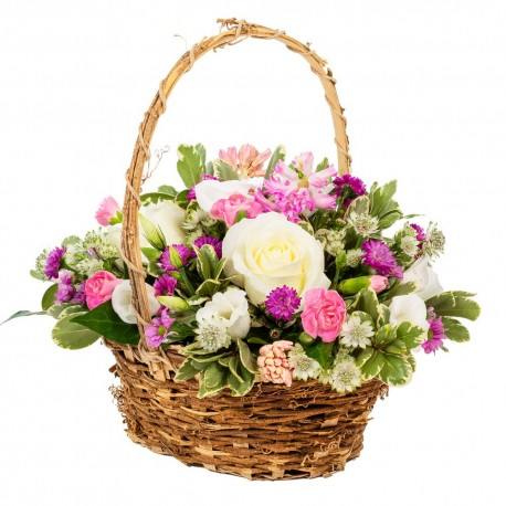 Happy Thoughts basket