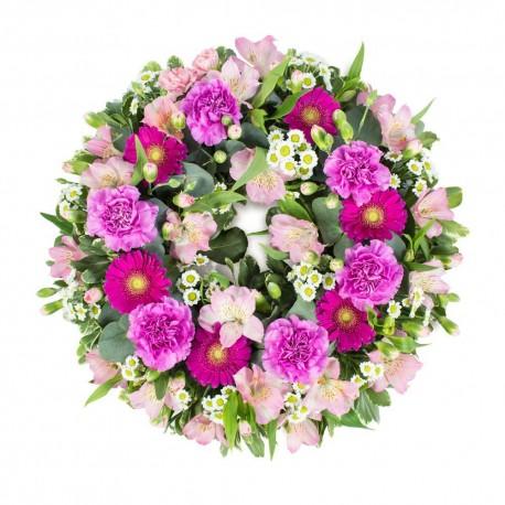 Pink classic Wreath SYM-320