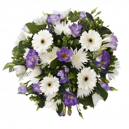 Blue and white Posy SYM-345